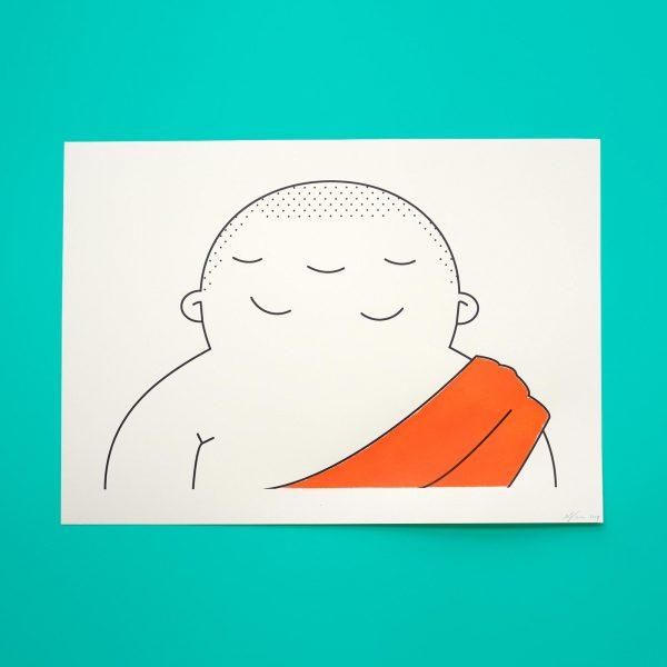 3 Eyed Buddha