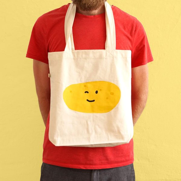 The Happy Potato Tote Bag